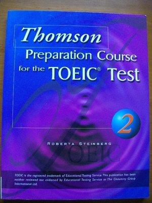 出清~多益用書~Tbomson preparation course for the Toeic Test 2