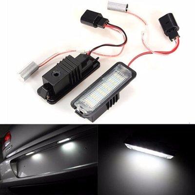 ◇光速LED精品◇VW GOLF6 解碼 牌照燈 白光