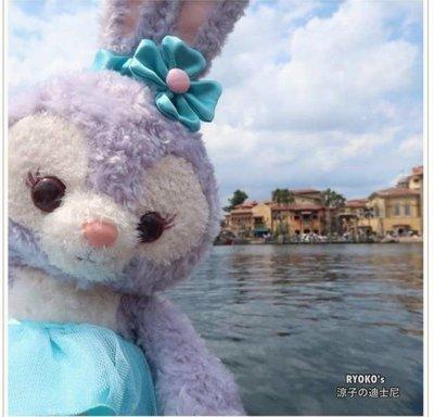 ??達菲熊的好朋友  日本東京迪士尼限定 芭蕾款史黛拉兔兔大娃娃43cm 含舞鞋??