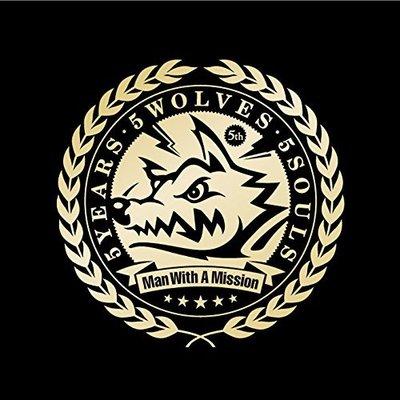 特價預購 MAN WITH A MISSION 5 Years 5 Wolves 5 Souls 精選(日版通常盤CD)