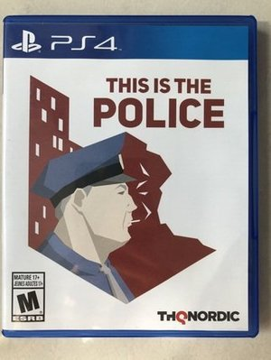 ps4遊戲PS4游戲 二手 偵探故事 THIS IS THE POLICE 現貨