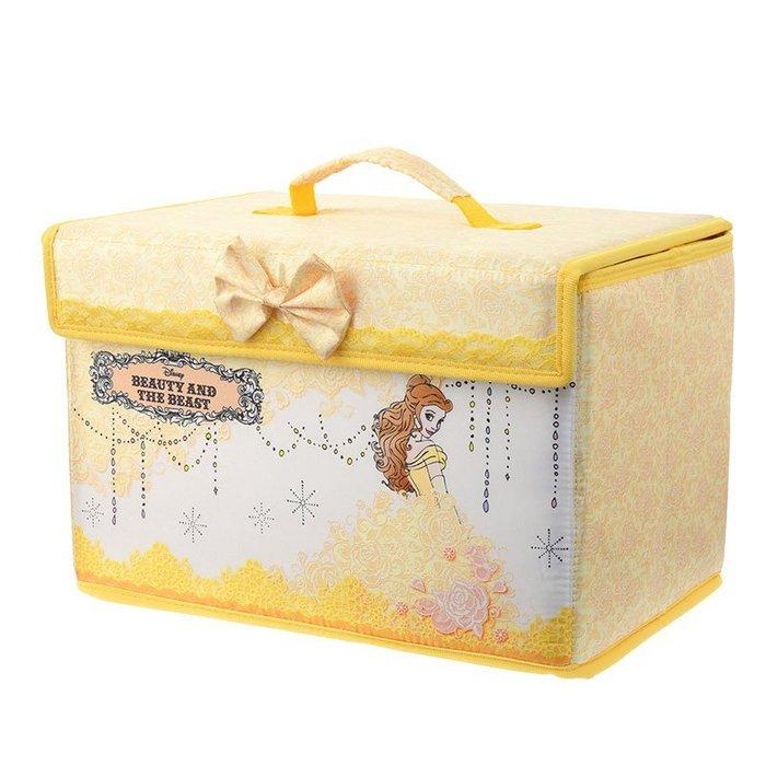 迪士尼 貝兒 公主系列 化妝箱 付鏡 Disney store 專賣商品 日本帶回 小日尼三 有優惠現貨免運費不必等