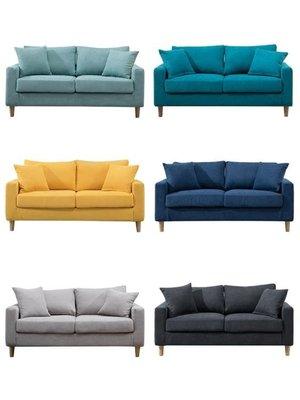 沙發布藝沙發小戶型客廳現代簡約雙人三人北歐簡易出租房服裝店網紅款榮耀 新品