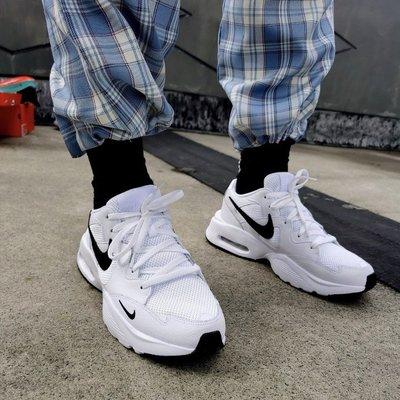 5號倉庫 Nike 休閒鞋Air Max Fusion 氣墊舒適避震復古球鞋黑白 運動鞋 男女款 CJ1670102 原