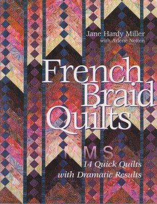 【傑美屋-縫紉之家】美國拼布書籍~french braid quilts 法式鑲邊拼布