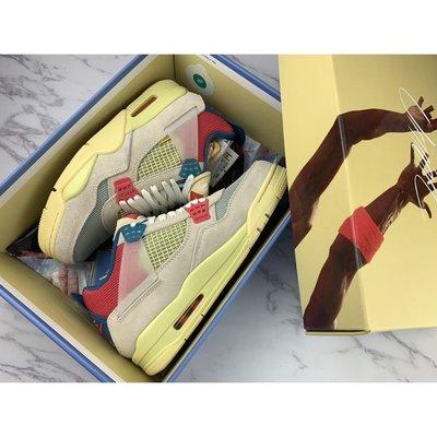 Union   X   Nike   Air Jordan 4Retro SP'Guava lce   粉紅藍