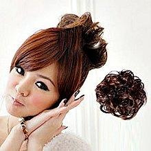 PS樂【CP002】假髮配件 日系可愛丸子頭髮量加多捲髮圈 髮束