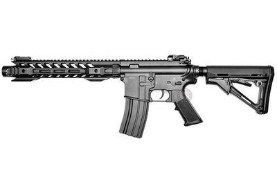 台南 武星級 BELL M4 12吋 電動槍 黑 ( BB槍BB彈M16玩具槍MP5狙擊槍UZI衝鋒槍M4卡賓槍AR步槍