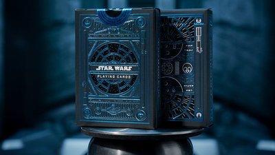 【天天魔法】【S1218】正宗原廠~星際大戰限定撲克牌:Star War Playing Cards(光明原力: 藍色)