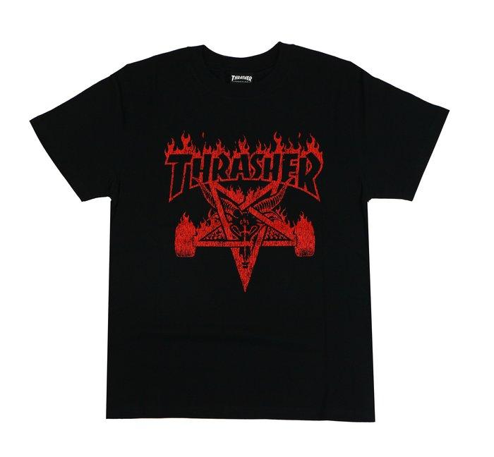 THRASHER VINTAGE SKATEGOAT 羊頭-黑色【HopesTaiwan】