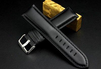 20mm收18mm ,6.5mm加厚版,義大利進口皮料可替代hamilton. seiko.oris原廠錶帶平面真皮錶帶