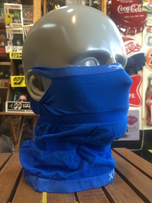 (I LOVE樂多)Naroo Mask亮藍長版X1騎行運動 可直接飲水 面罩 單車 哈雷 越野 滑胎 Cafe