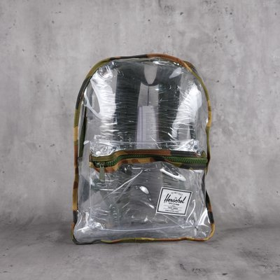 Herschel Classic XL Clear 大容量 後背包 Woodland Camo/Clear