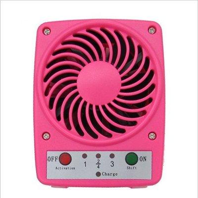 【小樺資訊】 USB 風扇 電風扇 迷你風扇 充電式 小電扇(贈18650電池)支援行動電源