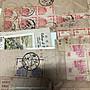 12.2頁台灣早期舊票全戳殘片 品相不錯 特價1100元