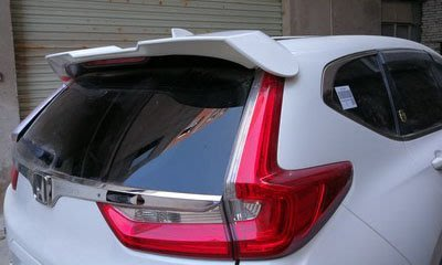 ~歐力車飾~本田 HONDA 18年 CRV 5 尾翼 CR-V 5 擾流板 CRV5 尾翼 壓尾翼 空力套件 素材