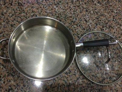 30公分太魯閣Wolfgang Puck不鏽鋼 加厚鍋