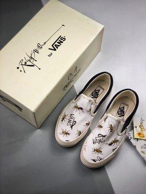 Ralph Steadman x Vans Vault OG SlipOnLX 藝術家聯名瀕危動物圖 聯名款板鞋一腳蹬