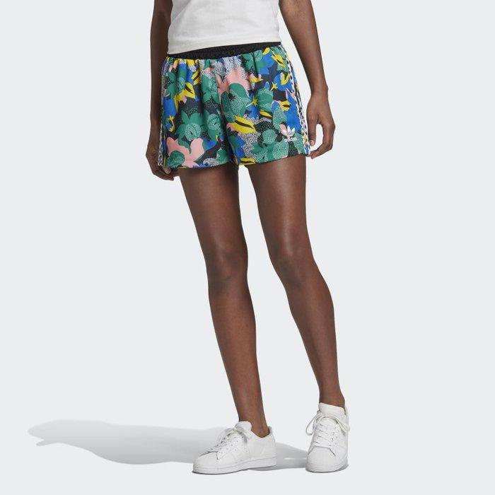 南 2020 6月 Adidas HER STUDIO LONDON GC6828 倫敦花卉 印花 休閒短褲 女款