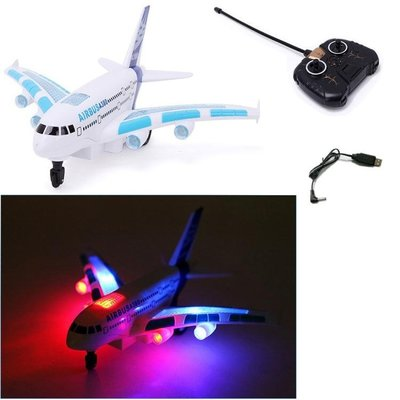 【蘑菇小隊】遙控A380民航客機 電動航空模型航模飛機模型玩具-MG92928