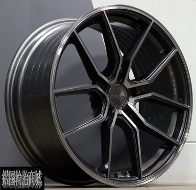 全新 高質感 ASGA ARF04 19吋鋁圈 旋壓輕量化 透明灰刷絲 規格齊全 *完工價*