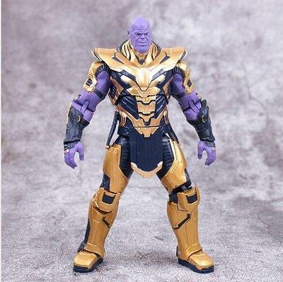 正版漫威8寸盔甲 Marvel Thano復仇者聯盟4關節可動 S009 11122019