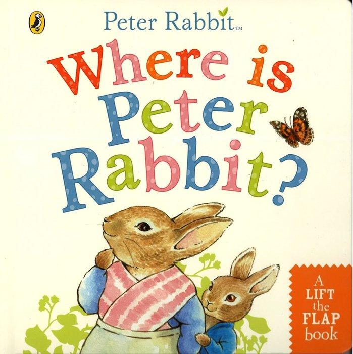 *小貝比的家*WHERE IS PETER RABBIT?/硬頁翻翻書/3~6歲
