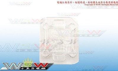 【WSW 周邊】INTEL CPU 放置保護盒 自取5元 通用775/1155/1150 大量供應中 另有AMD 台中市