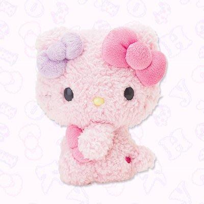 *凱西小舖*日本進口三麗歐正版KITTY凱蒂貓棉花糖系列毛茸造型玩偶