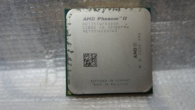 AMD Phenom II X6 1035T ,,2.6G (3.1G) Hz   / 6核心 ,,AM3(938)腳位