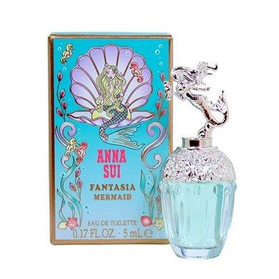 ☆MOMO小屋☆ Anna Sui Fantasia Mermaid 童話美人魚 女性淡香水 5ml (原廠沾式)
