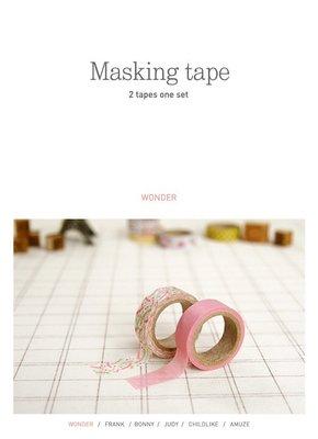 【R的雜貨舖】紙膠帶分裝 Dailylike Masking tape 紙膠帶 22-Wonder