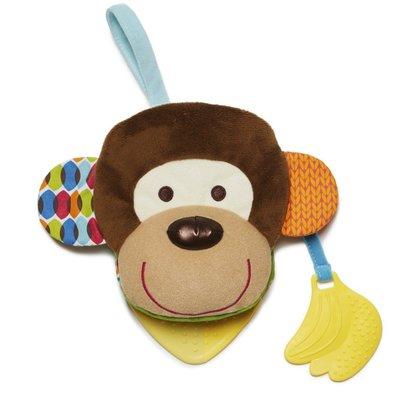 【現貨】QB 選物》美國Skip Hop 正品 - 圍巾小伙伴系列-猴子玩偶書