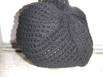英坊**保暖個性編織圓帽