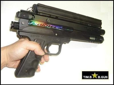 廠商清倉價~ARMOTECH漆彈槍G2升級版鎮暴槍17mm居家安全自衛CO2動力防暴槍送 ABS硬彈(另售鑽石彈T5)