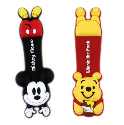 【卡漫迷】 米奇 維尼 捲線器 二選一 ㊣版 Mickey 小熊 維尼熊 Pooh 米老鼠 加強 鈕扣式 隨身耳機
