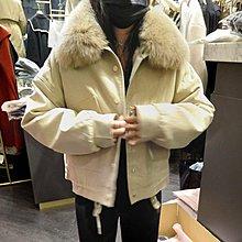 特價中 韓國設計師款 狐狸毛 內裡毛 外套
