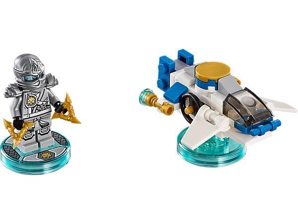 【LEGO 樂高 】100% 全新正品 益智玩具 積木/ Dimensions 忍者三合一次元系列 Zane 71217