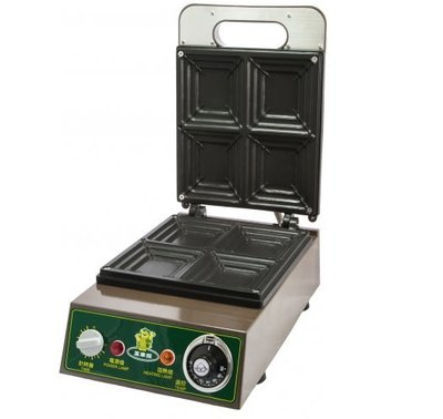 《利通餐飲設備》玉米熊吐司堡機  鬆餅機 紅豆餅機