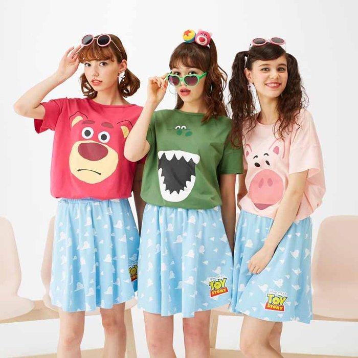 《FOS》 2019新款 日本 Disney 迪士尼 T恤 短T 棉T 時尚 雜誌款 可愛 維尼 玩具總動員 熊抱哥