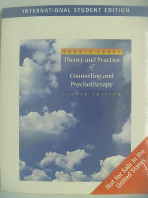 Theory And Practice Of Counseling And Psychotherapy 〖心理〗AJR