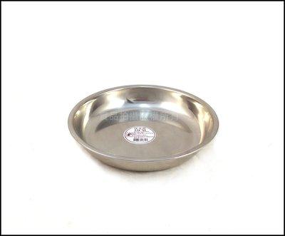 [歡樂廚房] 304不銹鋼深菜皿 不鏽鋼菜盤 電鍋蒸盤 22CM 台灣製造 台中市