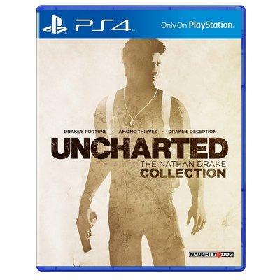 【二手遊戲】PS4 秘境探險 奈森德瑞克 1 2 3 合輯 UNCHARTED COOLECTION 中文版 台中恐龍