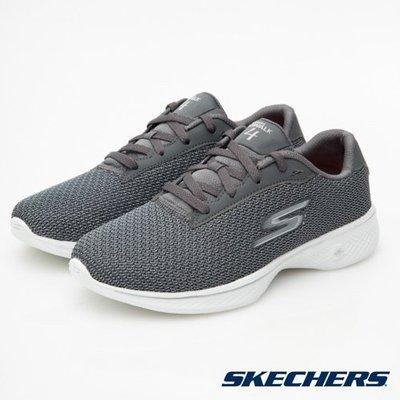 【昇活運動用品館】Skechers GO WALK 4 休閒鞋 14175 GRY 直購價2310元