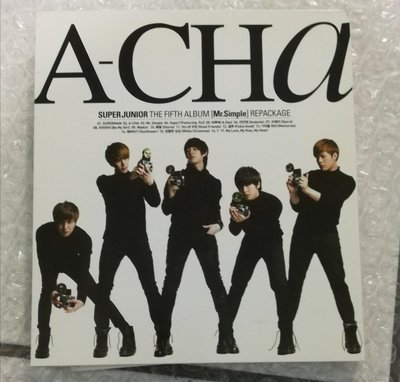 Super Junior 第五張專輯C版 《A-cha》