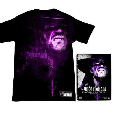 ☆阿Su倉庫☆WWE摔角 The Undertaker's Deadliest Matches DVD UT最新精選特輯 限量特價中