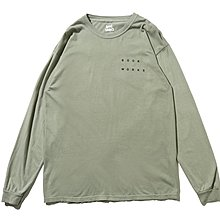 "[ LAB Taipei ] BOOK WORKS ""SIGNS L/S TEE"" (Natural)"
