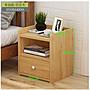 (全館免運)簡易床頭櫃現代簡約帶鎖特價儲物...