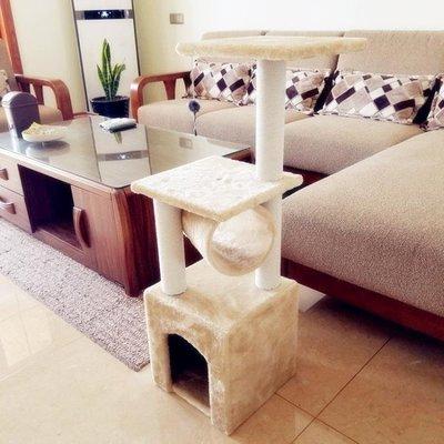 哆啦本鋪 廠家貼郵斑卓貓爬架貓窩玩具貓架貓抓板貓樹 94 D655