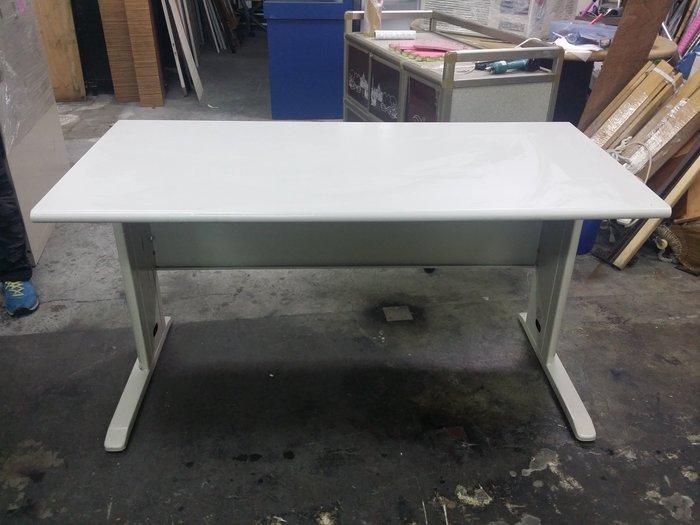 非凡二手家具 全新 B205-5四尺120cm辦公桌*OA桌*電腦桌*會計桌*事務桌*工作桌*書法桌*書桌*主管桌